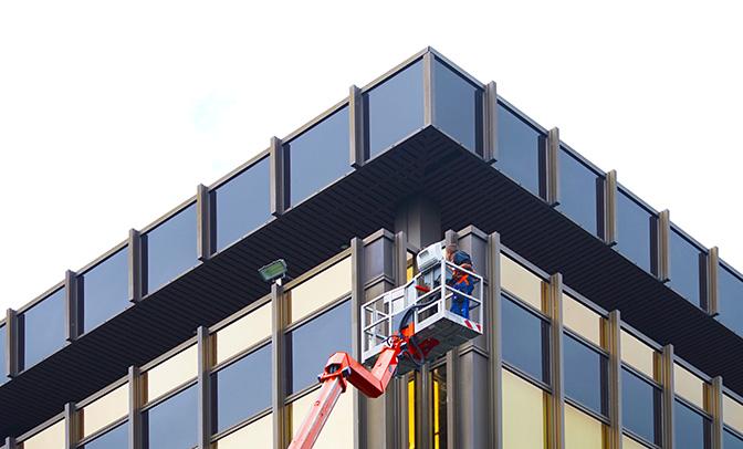 Fassadenreinigung - ADU Gebäudeservice GmbH