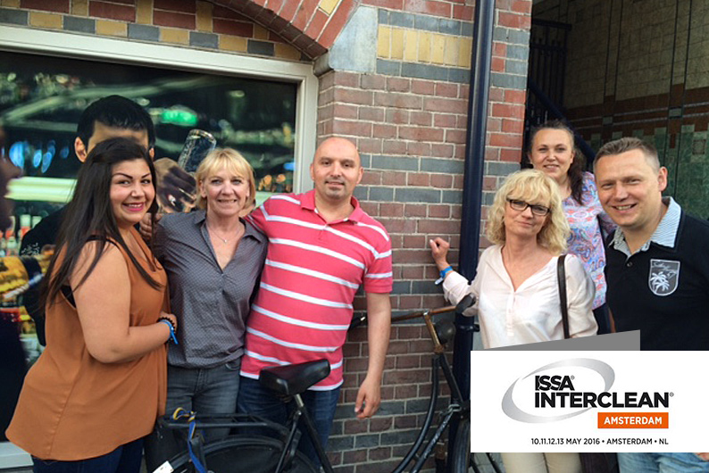 Das Team der ADU Gebäudeservice besucht besucht die größte Reinigungsmesse Europas.