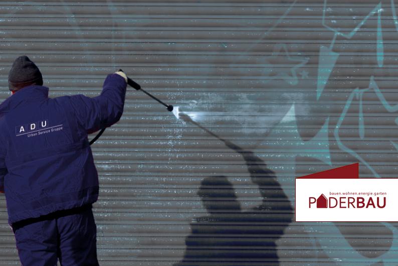 BEI GRAFFITIS KOMMT ES AUF EINE SCHNELLE REAKTION AN